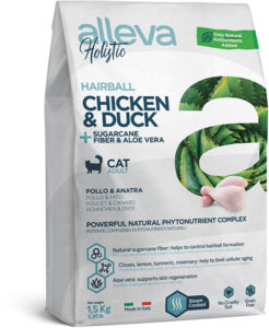 Holistic Chicken & Duck + Sugarcane fiber & Aloe vera Hairball