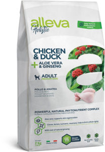 Holistic Chicken & Duck + Aloe vera & Ginseng Medium